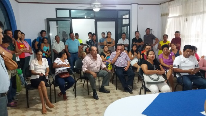 Entrega a SENAGUA del proyecto de agua potable para la cabecera parroquial y varias comunidades